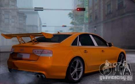 Audi A8 2010 для GTA San Andreas вид слева