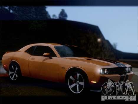 Dodge Challenger SRT8 2012 HEMI для GTA San Andreas