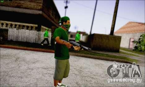 Lamar Davis GTA V для GTA San Andreas третий скриншот