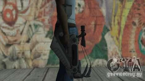 Арбалет из Timeshift для GTA San Andreas третий скриншот