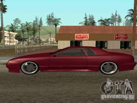 JTX Tuned Elegy для GTA San Andreas вид слева