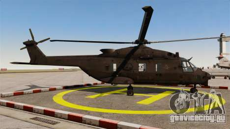 Eurocopter NHIndustries NH90 [EPM] для GTA 4 вид слева