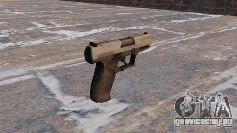 Самозарядный пистолет Walther P99 MW3 для GTA 4 второй скриншот