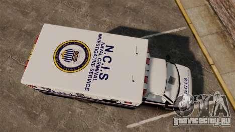 Brute NCIS [ELS] для GTA 4 вид справа