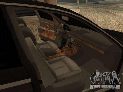 Maybach 62 V2.0 для GTA San Andreas вид справа