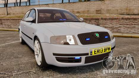Skoda Superb 2006 Unmarked Police [ELS] для GTA 4