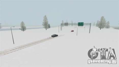 Локация Arctic Wonderland для GTA 4 пятый скриншот