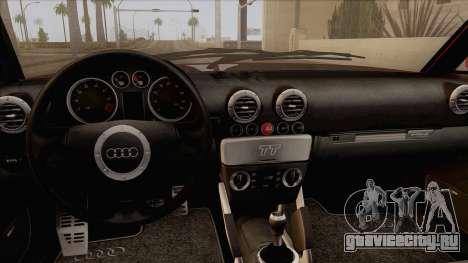 Audi TT 1.8T для GTA San Andreas вид справа