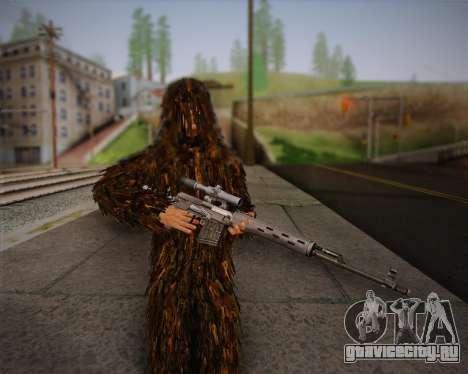 Скин снайпера из Arma 2 для GTA San Andreas четвёртый скриншот