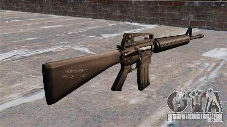 Самозарядная винтовка AR-15 Armlite для GTA 4 второй скриншот