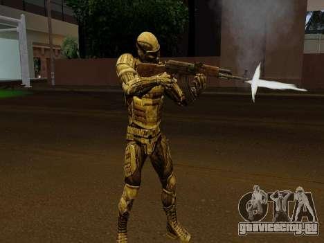 Корейский Нано-Костюм из Crysis для GTA San Andreas пятый скриншот