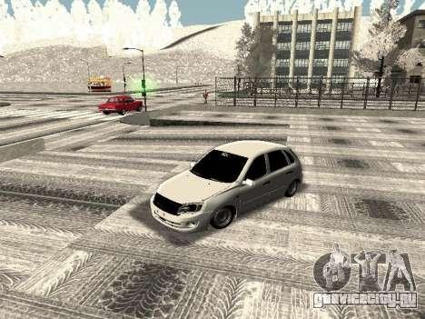 Ваз 2190-1119 для GTA San Andreas вид слева