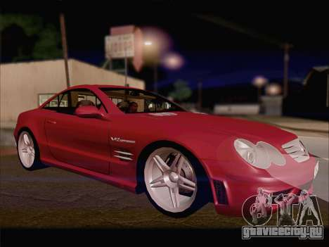 Mercedes SL500 v2 для GTA San Andreas вид слева