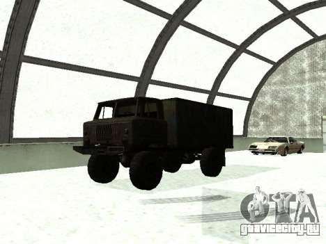 ГАЗ 66 для GTA San Andreas вид слева