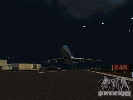 Boeing-747-400 Airforce one для GTA San Andreas вид изнутри