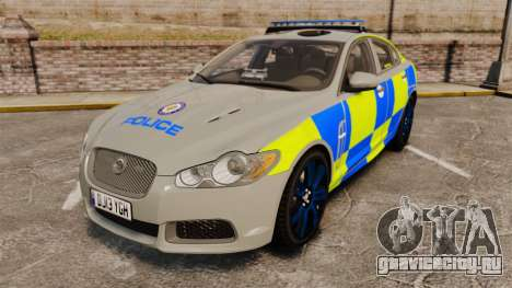 Jaguar XFR 2010 West Midlands Police [ELS] для GTA 4