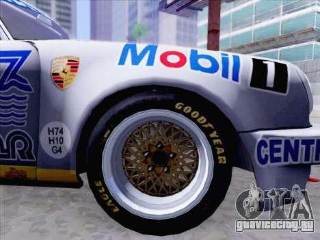 Porsche 911 RSR 3.3 skinpack 1 для GTA San Andreas вид справа
