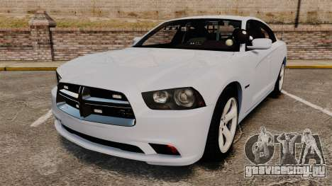 Dodge Charger RT 2012 Unmarked Police [ELS] для GTA 4