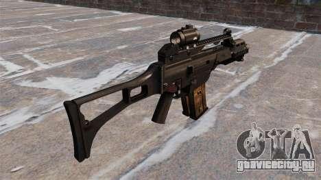 Тактическая штурмовая винтовка HK G36C для GTA 4 второй скриншот