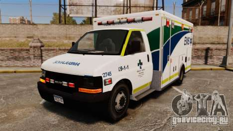Brute Alberta Health Services Ambulance [ELS] для GTA 4