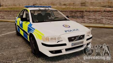 Volvo S60R Police [ELS] для GTA 4