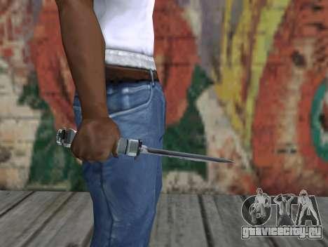 Нож из S.T.A.L.K.E.R. для GTA San Andreas третий скриншот