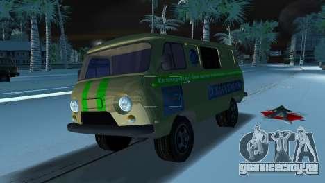 УАЗ 3741 Инкассация для GTA Vice City вид справа