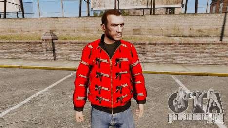 Ветровка -Uzi- для GTA 4