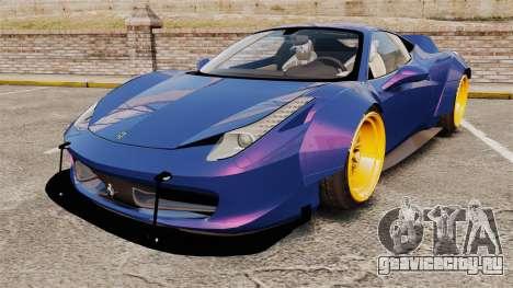 Ferrari 458 Italia Liberty Walk для GTA 4