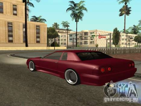 JTX Tuned Elegy для GTA San Andreas вид сзади слева