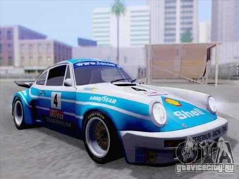 Porsche 911 RSR 3.3 skinpack 1 для GTA San Andreas салон