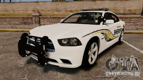 Dodge Charger RT 2012 Police [ELS] для GTA 4