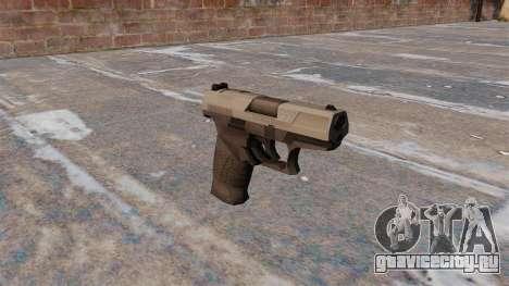 Самозарядный пистолет Walther P99 MW3 для GTA 4