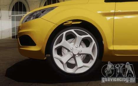 Ford Focus 2009 для GTA San Andreas вид сзади слева