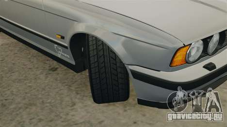 BMW M5 E34 для GTA 4 вид сбоку