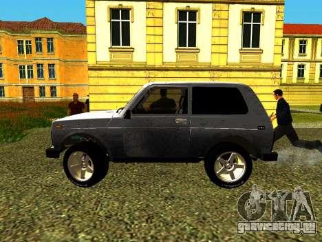 ВАЗ 21214 для GTA San Andreas вид слева