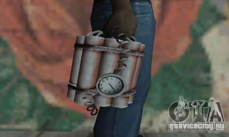 Dynamite для GTA San Andreas третий скриншот
