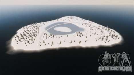 Локация Arctic Wonderland для GTA 4