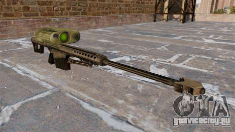 Снайперская винтовка Barrett M82A3 для GTA 4