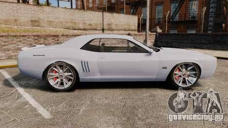 GTA V Declasse Gauntlet ZL1 2014 Facelift для GTA 4 вид слева