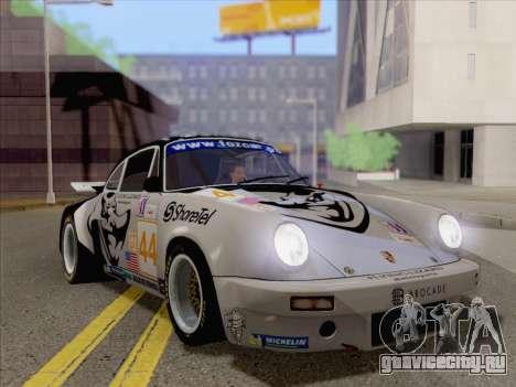Porsche 911 RSR 3.3 skinpack 2 для GTA San Andreas вид слева