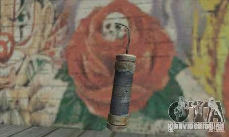Stick of dynamite из Metro 2033 для GTA San Andreas второй скриншот