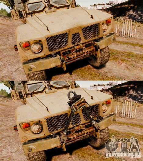 Oshkosh M-ATV для GTA 4 вид сбоку