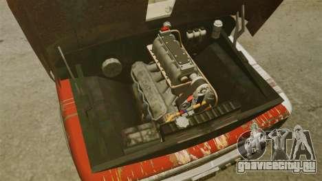 Chevrolet Tow truck rusty Rat rod для GTA 4 вид сзади