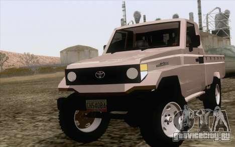 Toyota Fj70 2007 Pick Up для GTA San Andreas