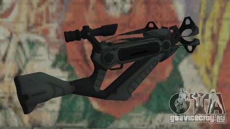 Арбалет из Timeshift для GTA San Andreas второй скриншот