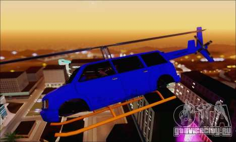 Fun Maverick для GTA San Andreas вид слева