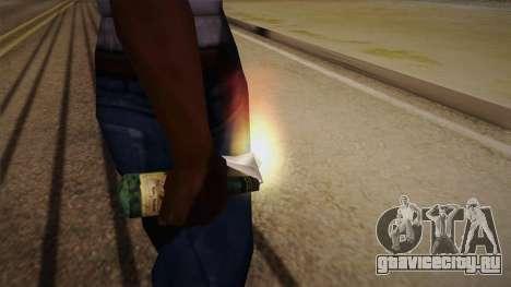 Коктель Молотова из Max Payne для GTA San Andreas третий скриншот