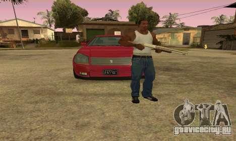 Presidente из GTA IV для GTA San Andreas вид изнутри