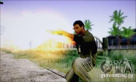Lamar Davis GTA V для GTA San Andreas четвёртый скриншот